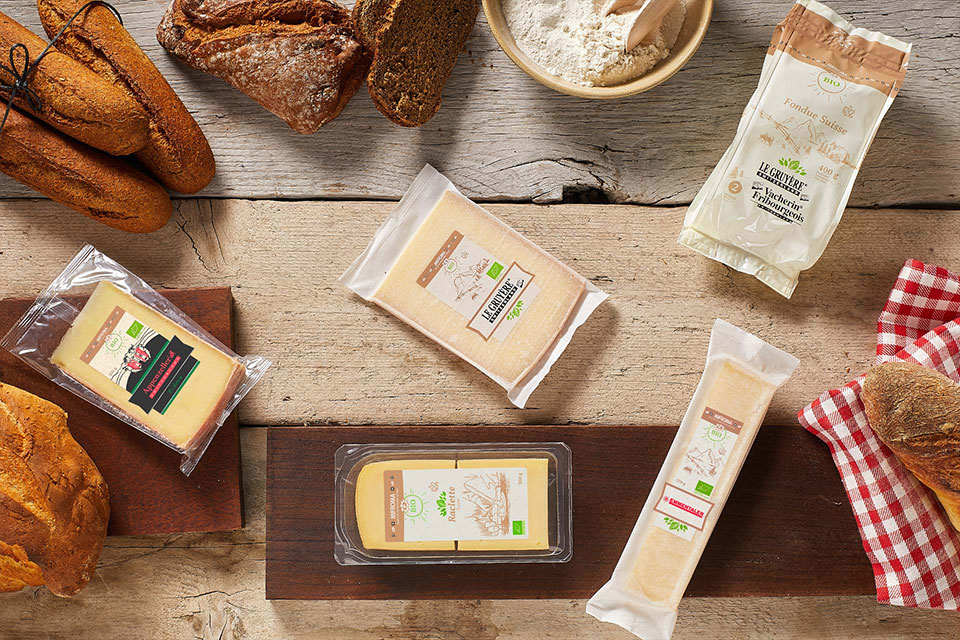 Our organic cheeses - Natural delights Mifroma cheeses range